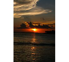 Sunset at Key West Photographic Print