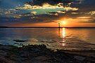 A Beautiful Lake Eufaula Sunset by Carolyn  Fletcher