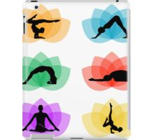 yoga and meditation iPad Case/Skin