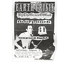 by the grace of god floorpunch cr ten yard fight show flyer Poster