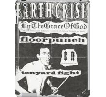 by the grace of god floorpunch cr ten yard fight show flyer iPad Case/Skin
