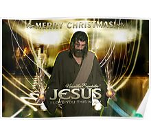 Jesus, Merry Christmas! Poster