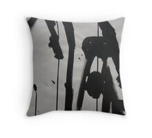 FABRIC~IN~MOVEMENT 12 Throw Pillow