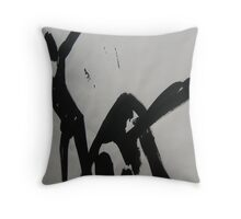 FABRIC~IN~MOVEMENT 14 Throw Pillow