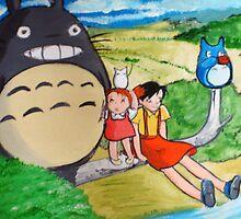 My Neighbor Totoro by debzandbex