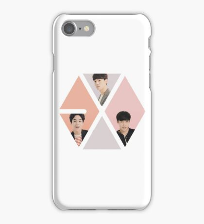 Exoception (exo m within the exo logo) iPhone Case/Skin
