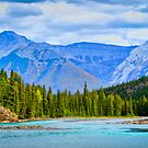 The Bow River - Banff, Alberta, Canada by Robert Kelch, M.D.