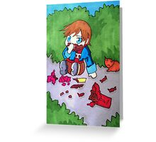 I Love Chocolate! Greeting Card