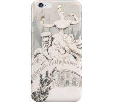 Adolf Oberländer or Oberlander A baroque sculpture forming an allegory iPhone Case/Skin