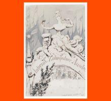 Adolf Oberländer or Oberlander A baroque sculpture forming an allegory Kids Tee