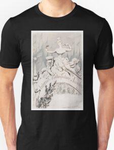 Adolf Oberländer or Oberlander A baroque sculpture forming an allegory Unisex T-Shirt