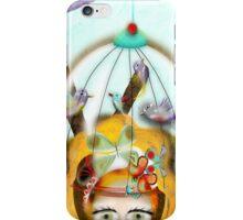 Feeling birds in my mind iPhone Case/Skin