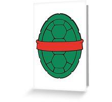 TMNT - Raphael Shell Greeting Card
