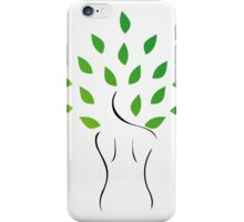 Skin and hair treatment with organic products iPhone Case/Skin