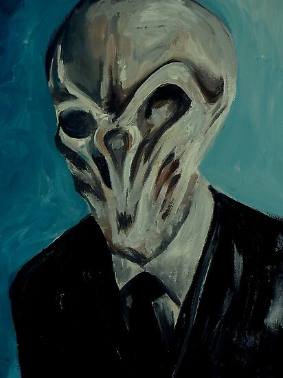 Dr Who Villains No. 4:The Silence by debzandbex