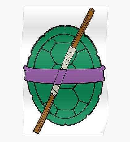 TMNT - Donatello Shell Poster