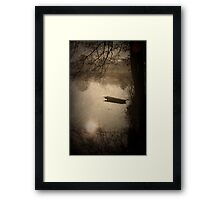 Mysterious morning Framed Print