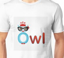 Friendly owl wisdom Unisex T-Shirt