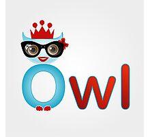 Friendly owl wisdom Photographic Print