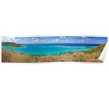Eustatia Sound Panorama Poster