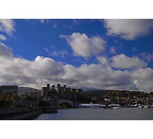 Conwy Castle/Castell Conwy Photographic Print