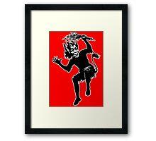 Krampus 002 Framed Print