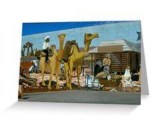 Alice Springs  wall   2 Greeting Card