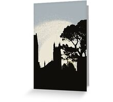 Church at sunrise Greeting Card