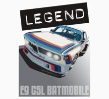 BMW E9 CSL BATMOBILE 'LEGEND' by Sharknose