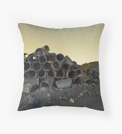 Barrels at Night Throw Pillow