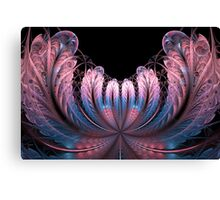 Pink Fan-tastique Canvas Print