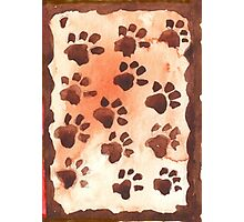 Footprints in Africa - Ethnic series Photographic Print
