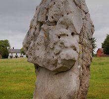 Avebury stone by blodauhyfryd