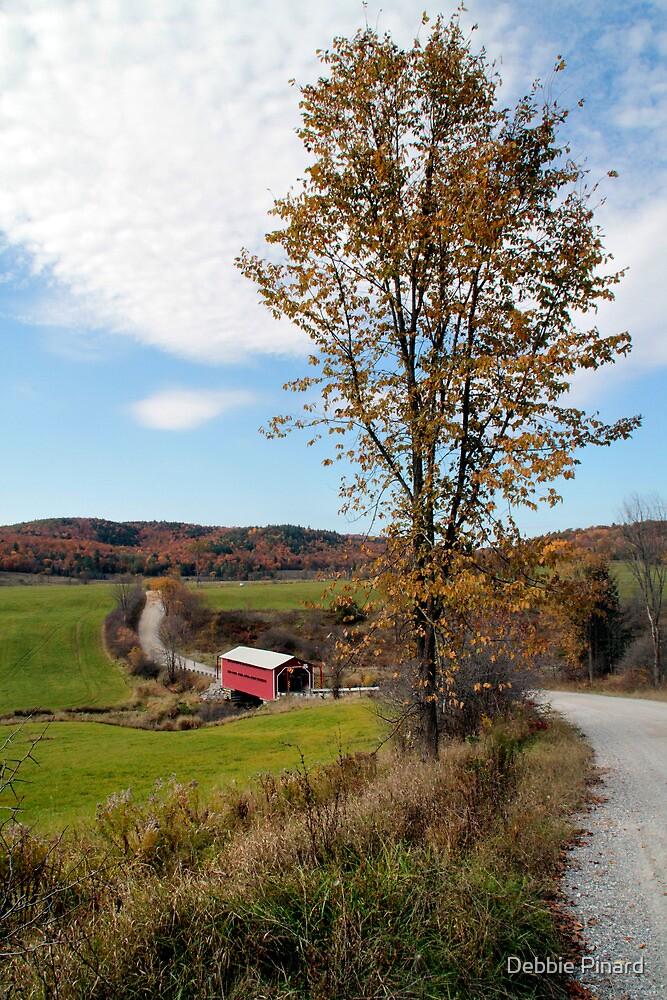 The Covered Bridge 1 - Gatineau Park Quebec by Debbie Pinard