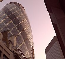 The Gherkin, London by Jack McInally