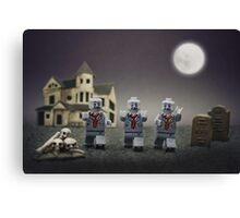 Zombie Escape! Canvas Print