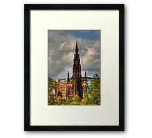 Scott's Gothic Rocket Framed Print