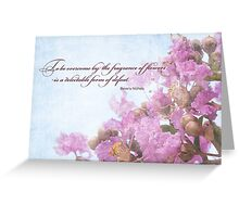 Floral Notecard Greeting Card