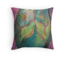 V&A Museum piece in mixed media 5 Pottery Ancient Throw Pillow