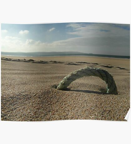 Sun, sea and...some rope? Poster