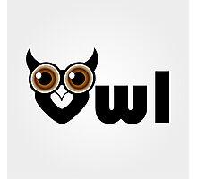 Owl- a symbol of wisdom  Photographic Print