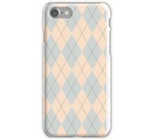 Pink and Purple Argyle iPhone Case/Skin