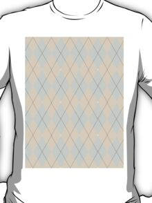 Pink and Purple Argyle T-Shirt