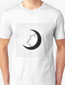 Lady in a moon T-Shirt