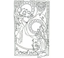 Annunciation Photographic Print