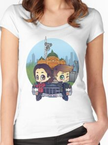 Winchesters in Melbourne Women's Fitted Scoop T-Shirt