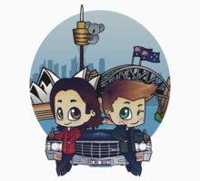 Winchesters in Sydney One Piece - Short Sleeve