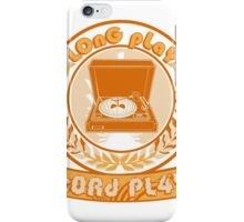 Vintage Retro Print iPhone Case/Skin