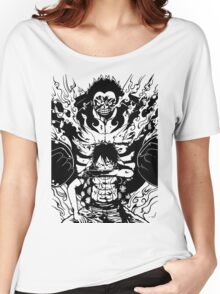 Luffy Gear 4 Transformation Women's Relaxed Fit T-Shirt