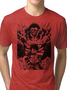 Luffy Gear 4 Transformation Tri-blend T-Shirt